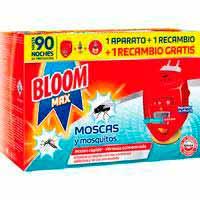 Bloom Max Insecticida eléctrico moscas y mosquitos 1ap.+2rec.