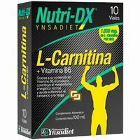Nutri Dx L-carnitina nutricio-DX 10 uni