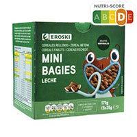 Eroski Cereales Mini bagies rellenos de leche 5X35g