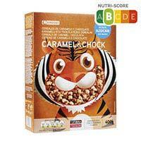 Eroski Cereals de caramel i xocolata 400g