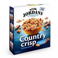 Jordans Country crisp muesli y frutos secos 400g