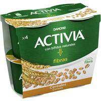 Activia bífidus con cereales Danone 4x120g