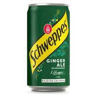 Schweppes Ginger Ale lata bajo en calorías 25cl