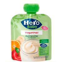 Hero Baby Yogurínes multifrutas 6 meses 80g