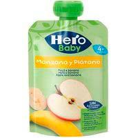 Hero Baby manzana plátano sin gluten 4 meses 100g