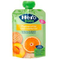Hero Baby multifrutas con galleta 6 meses 100g