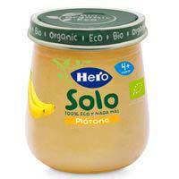 Hero Baby Solo plátano eco 4 meses 120g