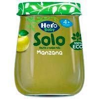 Hero Baby Solo pera plátano y zanahoria eco 4 meses 120g