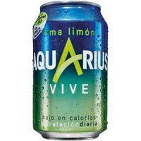 Aquarius Vive lima limón 33cl