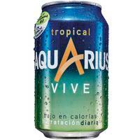 Aquarius Vive Tropical 33cl