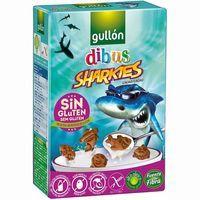 Gullón Galletas Mini sharkies cacao sin gluten 250g