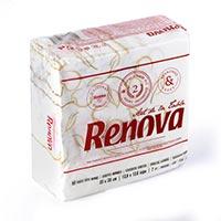 Renova Tovallons decoratives 2 capes 80u