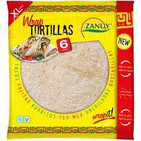 Zanuy Wraps tortitas 375g