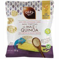 Diet Rabisson Tortitas minis de maíz y quinoa 50g