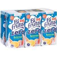 Bifrutas Zero Mediterrani PASCUAL, pack 6x200 ml