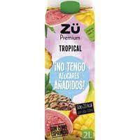 Zü Premium Zumo exprimido tropical sin azúcar 2l