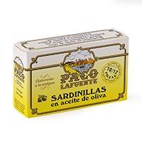 Paco Lafuente Sardinilla en aceite de oliva 10/12 125g