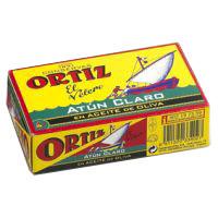 Ortiz Atún claro en aceite de oliva 112g