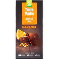 Chocolate negro 70% sabor naranja OXFAM, tableta 100 g