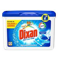 Dixan Detergente cápsula Duo-caps total 24 dosis