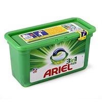Ariel Detergente cápsula 3 en 1 38 dosis