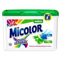 Micolor Detergente cápsula adiós al separar 24 dosis