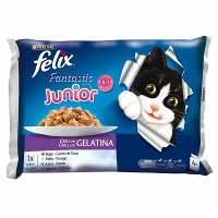 Felix Gato Sensaciones Grill 4X100G.
