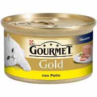 Gourmet Go Menjar gat pollastre gold 85g