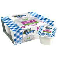 La Fageda Yogur desnatado stevia 4x125g