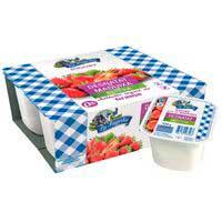 La Fageda Yogur sabor fresa desnatado stevia 4x125g