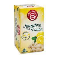 Pompadour Infusió gingebre amb llimona 20u