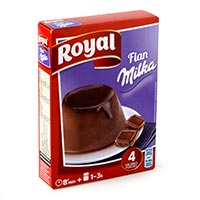 Royal Flan chocolate 115g