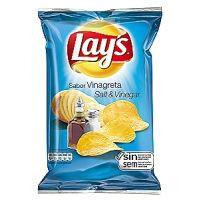 Lay's patatas fritas sabor vinagreta sin gluten 170g
