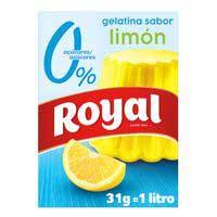 Royal Gelatina llimona 0% sucres 31g
