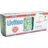 12 Uvitas de la sort any d'or GOLDEN, pack 3x120 g