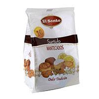 Mantecados assortits EL SANT, caixa 200 g