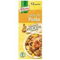 Brou de pollastreKNORR, 12 pastilles, caixa 120 g