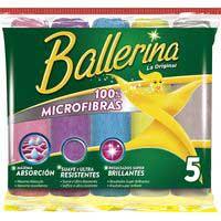 Ballerina Bayeta microfibras 5u