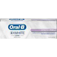 Oral B Dentífrico 3d white luxe efecto perla 75ml