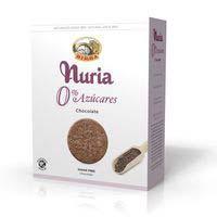 Nuria sin azúcar chocolate y nibs 3x135g 405g