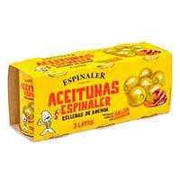 Espinaler Aceituna pack 3 120g