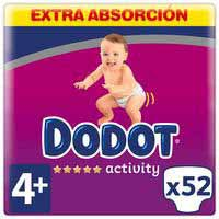 Dodot Pañales T-4 Activity 10-15Kg 52u