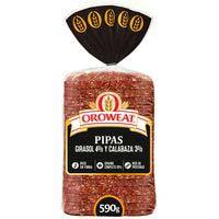 Oroweat Pan de pipas y semillas 680g