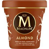 Magnum Tarrina almendra vainilla y chocolate con leche 440ml