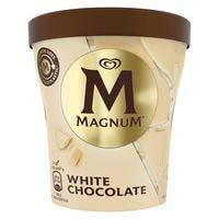 Magnum Tarrina white vainilla y chocolate blanco 440ml