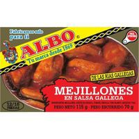 Albo Mejillón salsa gallega 10-12 pzas