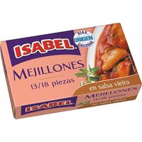 Isabel Musclo en salsa de vieira 13/ 18 pec.