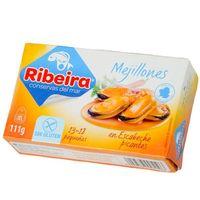 Ribeira Mejillones picantes 13/18 pza 120g