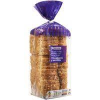 Eroski Pan de molde 15 cereales y semillas 675g