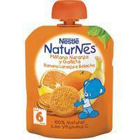 Nestle Nat Plat/naranja/galleta Pouch 90g